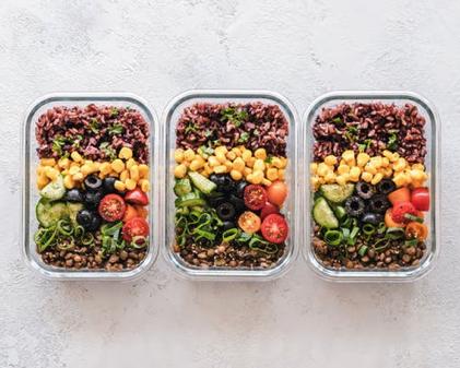 Foodbank meals via Y Waste app
