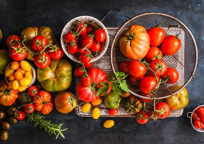 Transformation of surplus tomato and capsicum produce